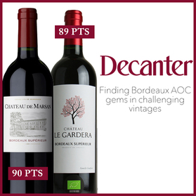 DECANTER: Finding Bordeaux AOC gems in challenging vintages